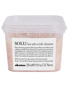 Davines Essential Haircare Solu Sea Salt Scrub Cleanser